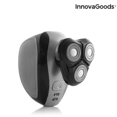 InnovaGoods, 5 az 1-ben újratölthető ergonomikus multifunkciós borotva Shavestyler