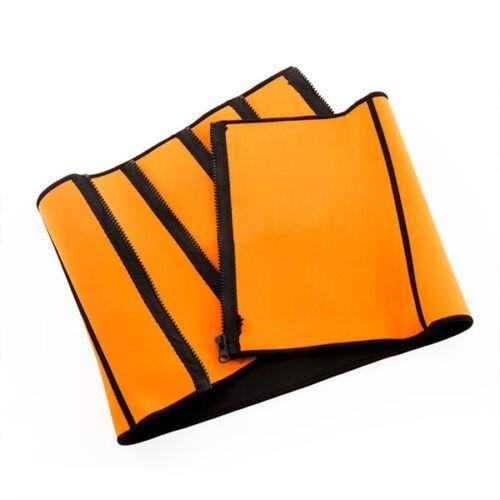 InnovaGoods Sport Fitness karcsúsító sportöv, Narancsszínű