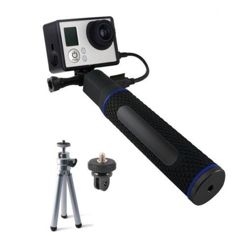 Selfie Bot Töltővel Sportkamerához 5200 mAh Fekete,