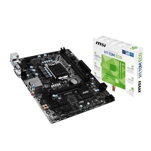 Alaplap MSI H110M ECO mATX LGA1151,