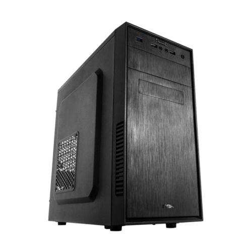 Micro-ATX Számítógép Ház NOX NXFORTE USB 3.0 12 cm Fekete,