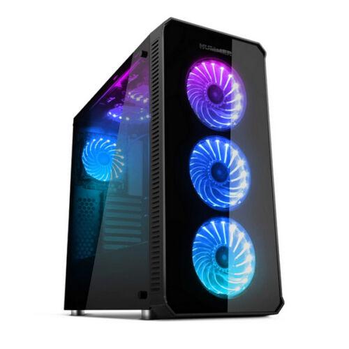 ATX Közepes Torony PC Ház NOX NXHUMMERTGX RGB,
