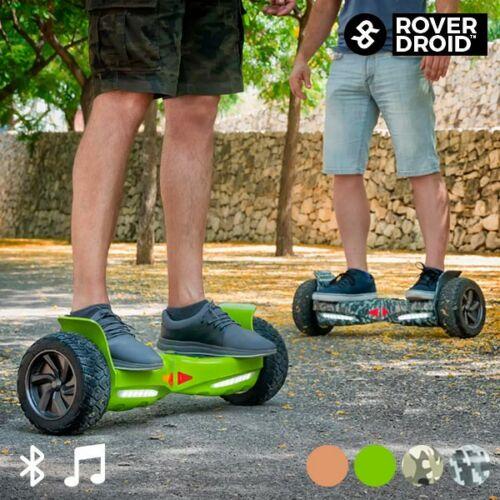 Rover Droid Stor 190 Hoverboard Bluetooth Elektromos Roller Hangszóróval, Aranyszínű