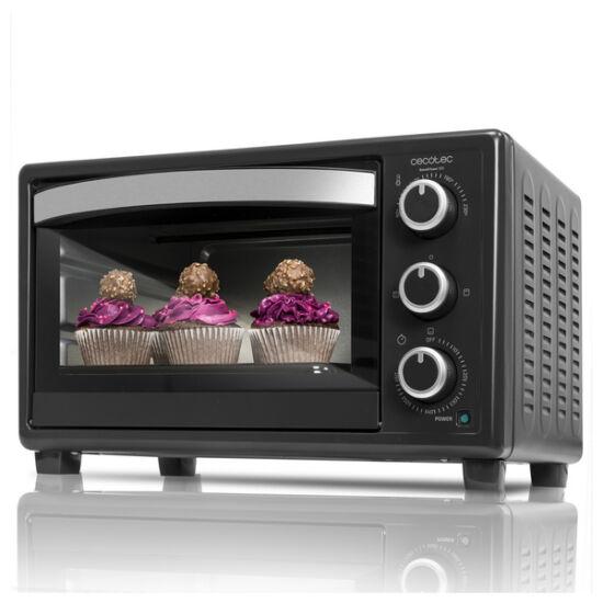 Mini Elektromos Sütő Cecotec Bake'n Toast 1500W Szín  Fekete