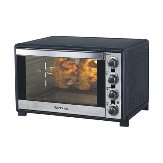 Mx Onda MXHC2600, Hőlégkeveréses sütő, 60 L, 2200W, Rozsdamentes acél