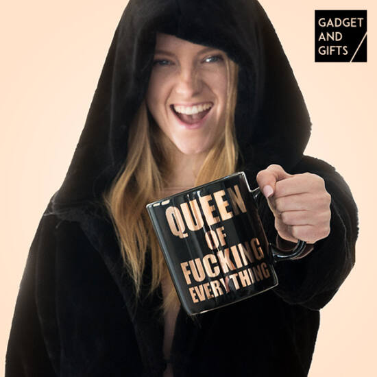 XXL Queen Gadget and Gifts Bögre