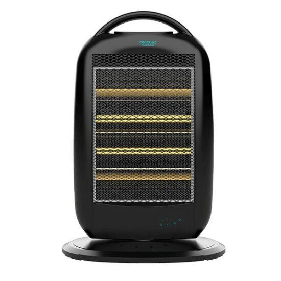 Cecotec Ready Warm 7200 Quartz Rotate Smart, Halogén Fűtőtest, 1200W