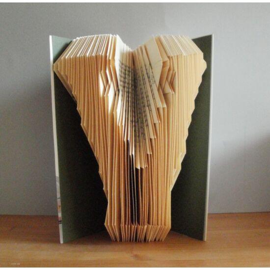 Egyedi kézzel készített könyvszobor