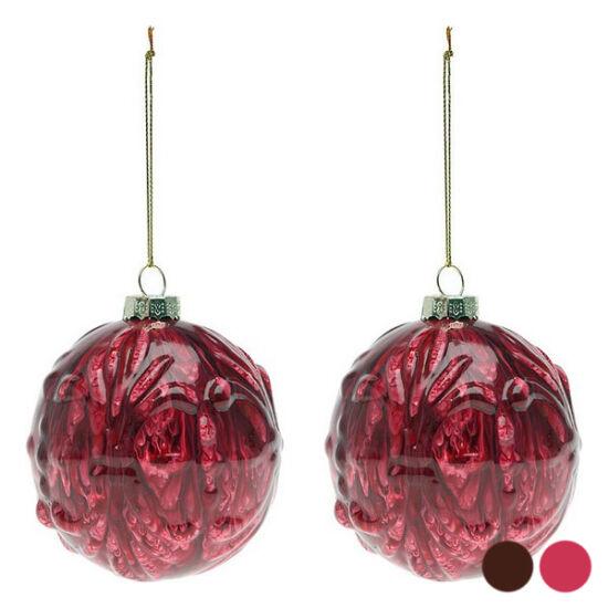 Karácsonyi díszek (2 db) 112575 Szín Piros