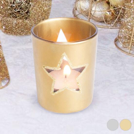 Karácsonyi Csillag Gyertyatartó 145595 Szín Ezüst színű