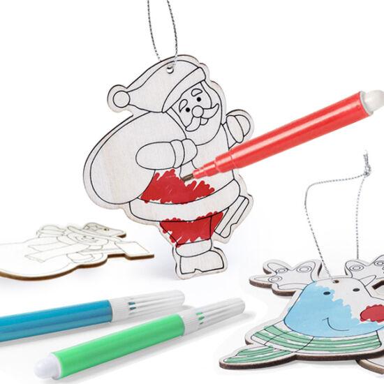 Karácsonyi dísz szett DIY (6 db) 145899 Mennyiség 3