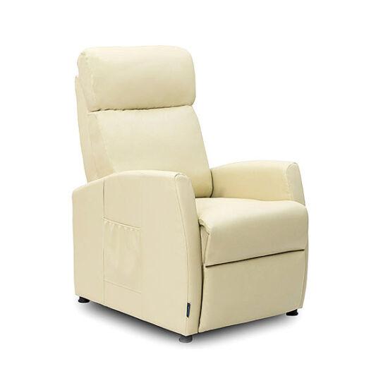Cecotec 6181 Hátradönthető Bézs Kompakt Relax Masszázsfotel