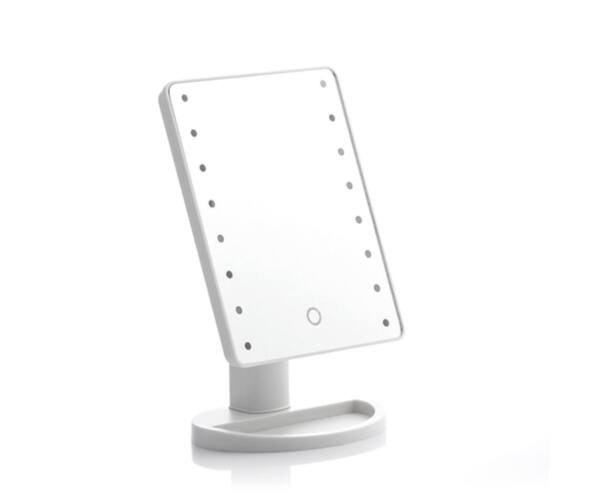 Érintős Asztali Tükör 16 db LED-el