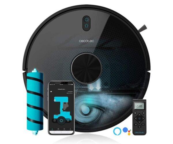 Cecotec Conga 5090 WiFi 5 GHz 8000 Pa 64 Db Fekete Robotporszívó