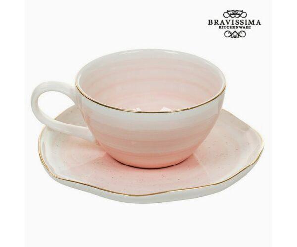 Csésze Tányérral 250 ml - Queen Kitchen Gyűjtemény