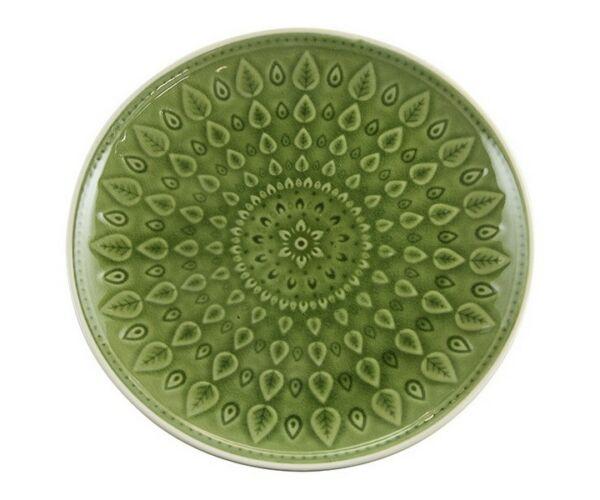 SWEET CHINA Natural (26 X 26 x 2 cm) Szín  Zöld