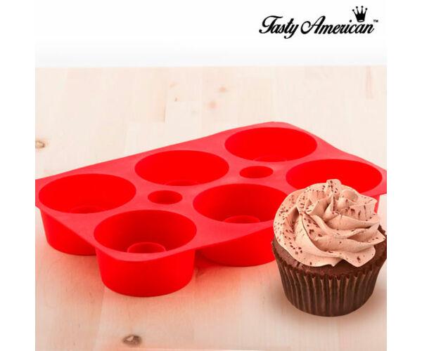 Tasty American Szilikon Cupcake Forma