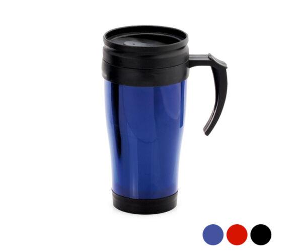 Bögre fedéllel (450 ml) 143786 Szín  Kék