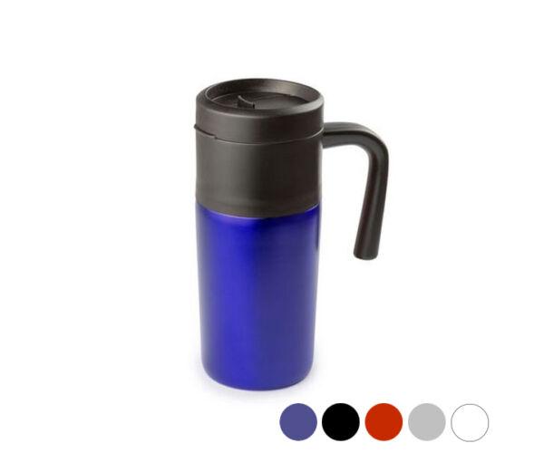 Bögre fedéllel (400 ml) 144738 Szín  Fekete