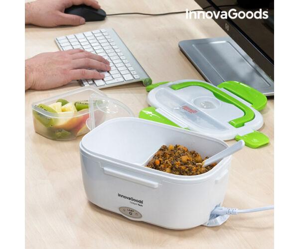 InnovaGoods Elektromos Ételtároló 40W Fehér Zöld