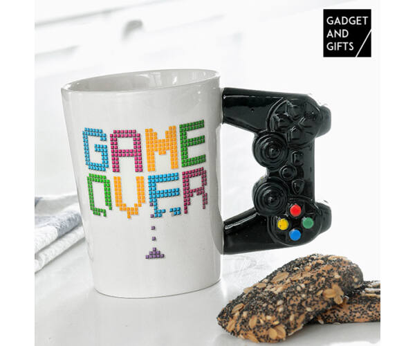 Gadget and Gifts Game Over Bögre