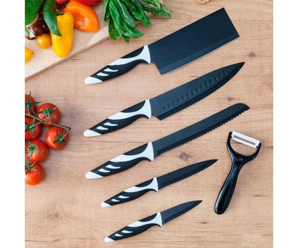 Cecotec Top Chef fekete C01024 Késkészlet (6 darabos)