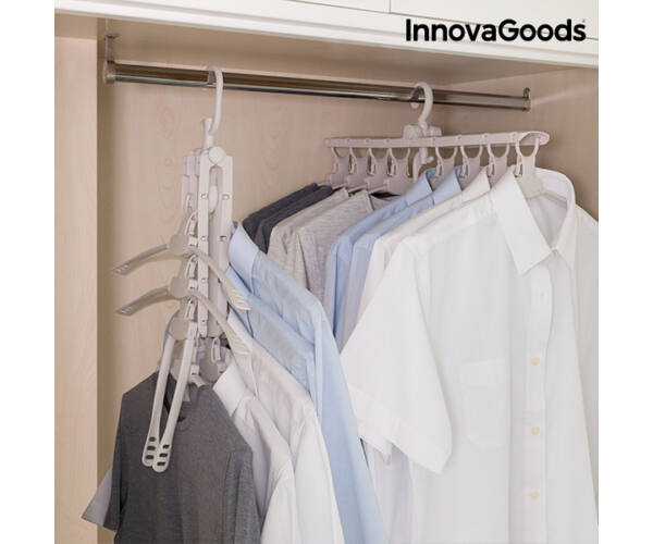 InnovaGoods 8 az 1-ben Multifunkcionális Akasztó
