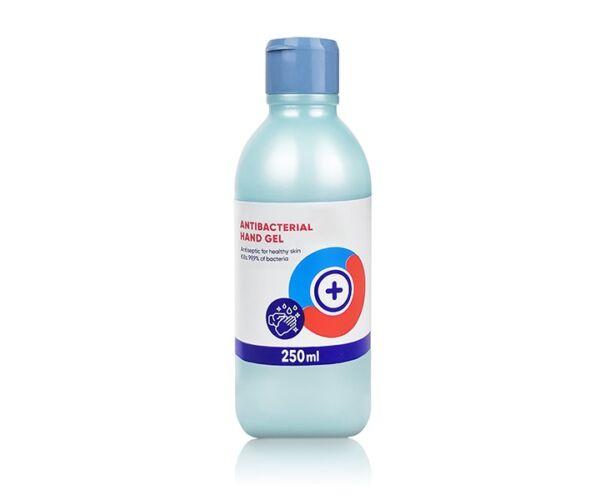 Kézfertőtlenítő gél 250 ml, 79,8 % etil alkohol