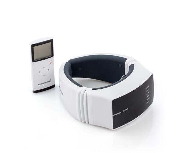 InnovaGoods Wellness Relax Pro tölthető nyakmasszírozó, fehér
