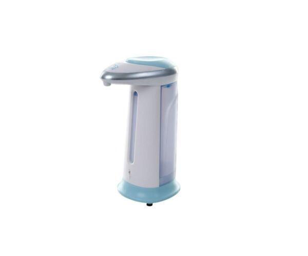 Automatikus folyékony szappanadagoló, kék-fehér, 300 ml