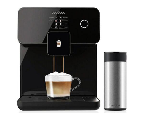 Cecotec Power Matic-ccino 8000 Touch, elektromos kávéfőző, 1,7 L 1500W, Fekete