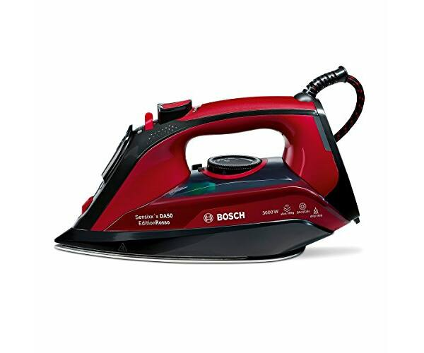 BOSCH TDA503001P 0,3 L 3000W Piros Fekete Gőzölős Vasaló
