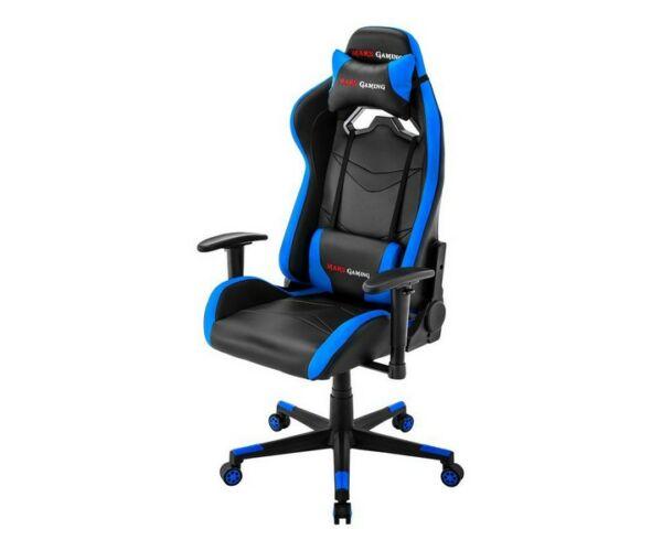 Mars Gaming MGC3BBL, Gamer Szék, Fekete-Kék