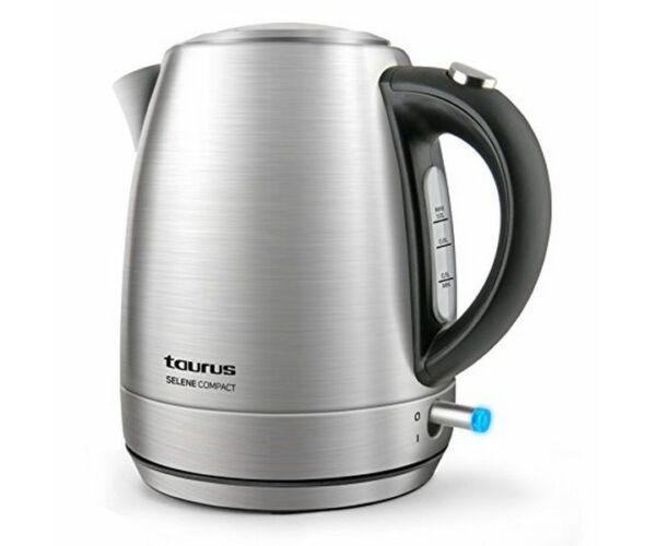 Taurus SELENE COMPACT, Vízforraló, 1 L 2200W Rozsdamentes acél