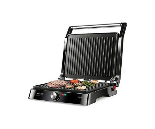 Kontakt grill Taurus Etna Inox 2200W Fekete
