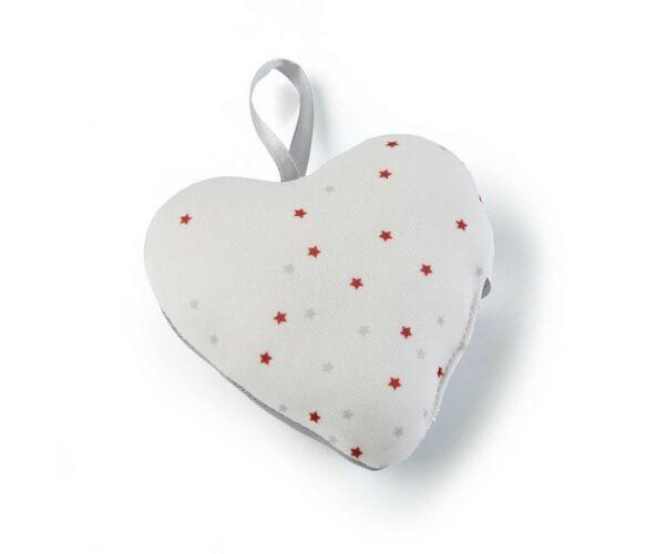 Légfrissítő Textil Szív (3 x 9,5 x 9,5 cm)-bibishop