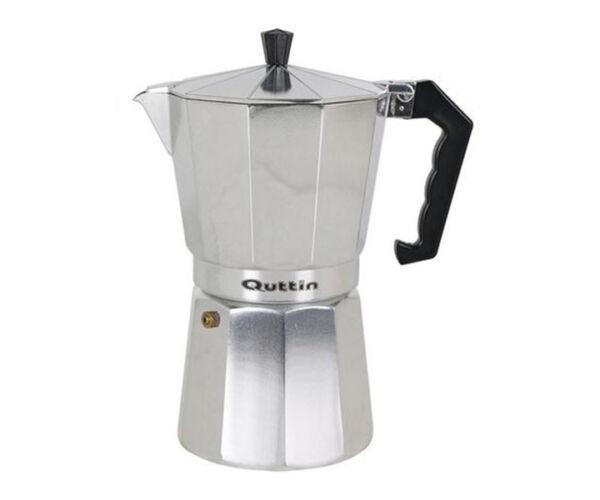 Kotyogós Kávéfőző Quttin Alumínium, 6 személyes