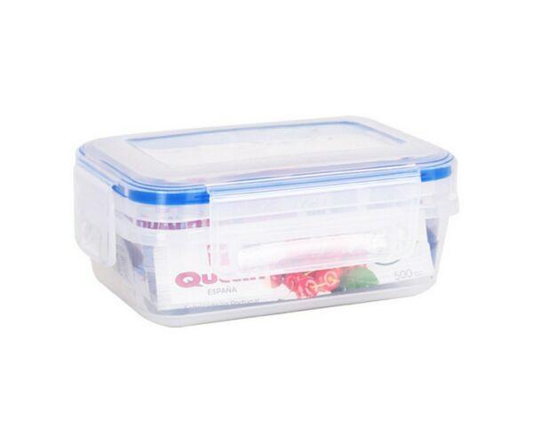 Hermetikus ebéddoboz Quttin L&F Műanyag Kapacitás 1500 ml - 20 x 15 x 8 cm