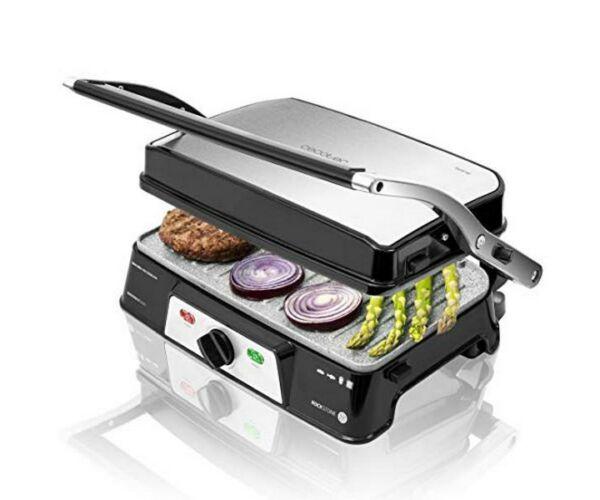Kontakt grill Cecotec Rock'n grill 1500 Take&Clean 1500W Fekete Ezüst színű
