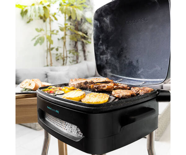 Elektromos Barbecue Cecotec PerfectCountry BBQ 2000W