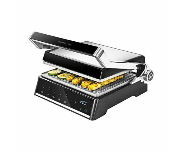 Kontakt grill Cecotec Rock'nGrill Smart 2000W Fekete Rozsdamentes acél