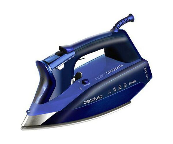 Cecotec Forcetitanium 720 Smart 300 ml 3000W Kék Gőzölős Vasaló