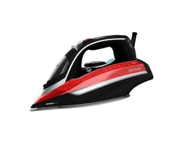 Cecotec 3D ForceAnodized 850 i-Pump 400 ml 3100W Fekete Piros Gőzölős Vasaló