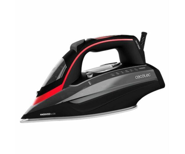 Cecotec 3D ForceAnodized 950 Smart i-Pump 400 ml 3100W Fekete Piros Gőzölős Vasaló