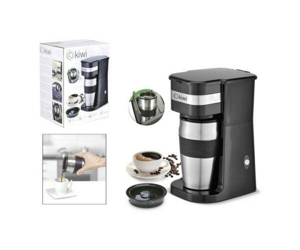 Kiwi KCM-7505, Elektromos Kávéfőző, 420 ml, 750W, Fekete