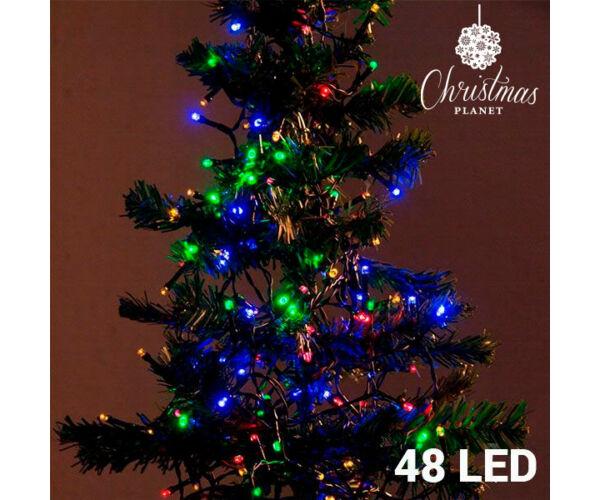 Karácsonyi Fényfüzér, 48 Led, 4 m