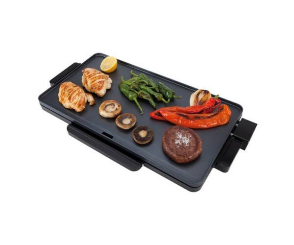 Lapos grilltál JATA GR213 2000W Fekete