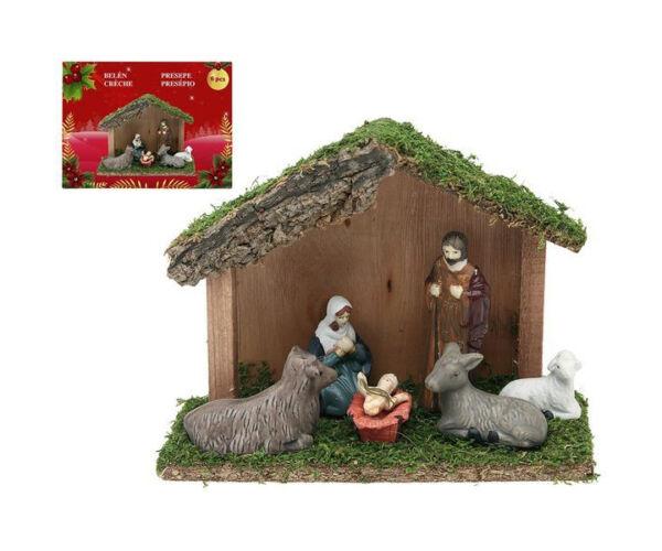 Karácsonyi Betlehem készlet 6 db-os
