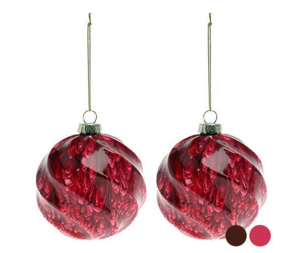 Karácsonyi díszek (2 db) 112537 Szín Piros
