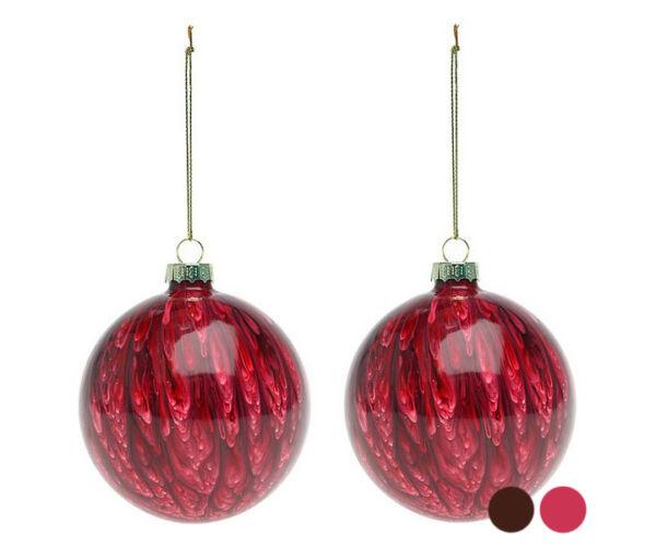 Karácsonyi díszek (2 db) 113572 Szín Piros